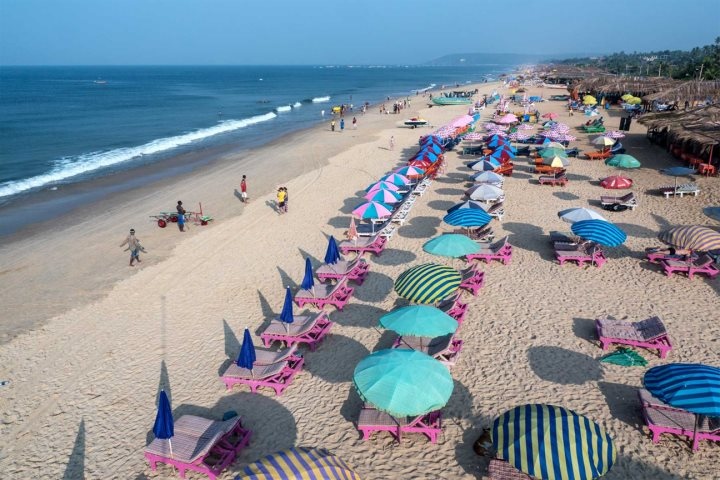 Calangute/Baga Beach, North Goa